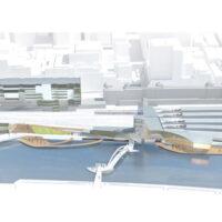 Flinders Street Station Proposal - aerial view