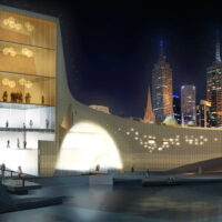Flinders Street Station Proposal - view from Southbank