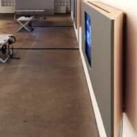 View of exhibition design installed at CCP, Melbourne