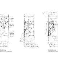 Pinwheel House Design Diagrams