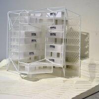 Model: bay facade